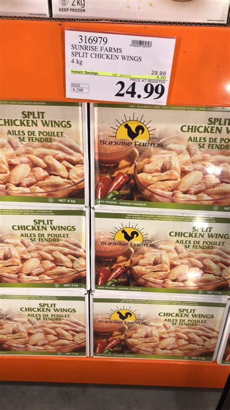 Today my costco didn't have fresh chicken wings, are fresh chicken wings something that comes in and out of stock?. Costco Split Chicken Wings - Best Instant Pot Chicken ...
