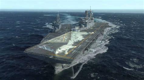 America (LHA 6) Builder's Sea Trials - YouTube