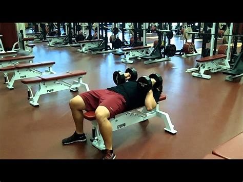 Bench Or Dumbbell Press close grip dumbbell bench press youtube