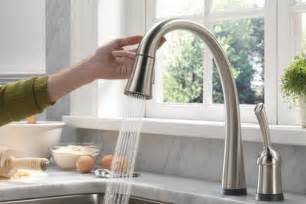 delta touchless kitchen faucet yanko claus win a delta pilar touch faucet yanko design