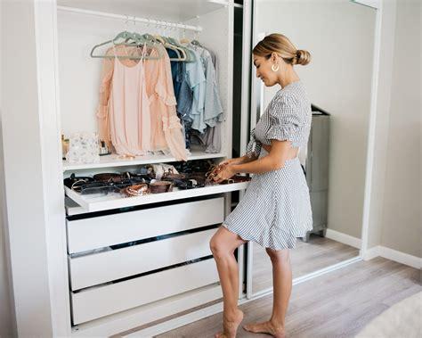 love olia closet renovation  ikea pax wardrobe closets