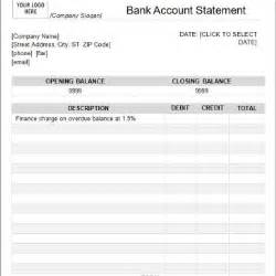 Free Fax Sheet Templates Editable Bank Statement Template Archives Word Templates