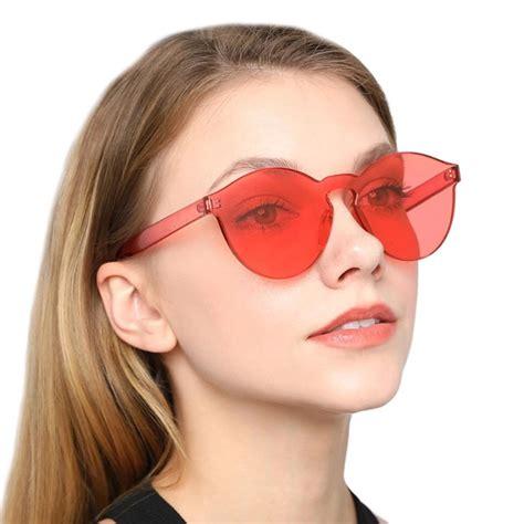 cek harga  candy colour transparant sunglasses