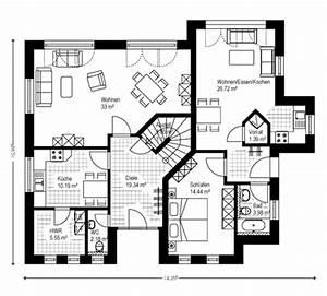 Bauen Zweifamilienhaus Grundriss : einfamilienhaus grundriss massivh user massivhaus ~ Lizthompson.info Haus und Dekorationen