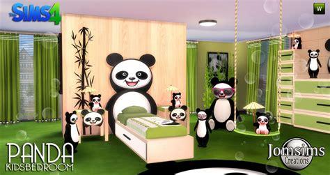 chambre panda chambre enfant sims 4