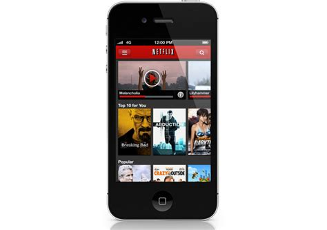 netflix app for iphone netflix for iphone updated to support iphone 5 and ios 6