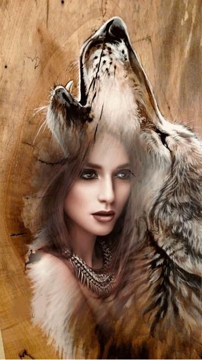 Wolf Native American Fantasy Werewolf Wolves Indian