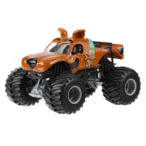 wheels monster truck videos wheels monster jam scooby doo toys games