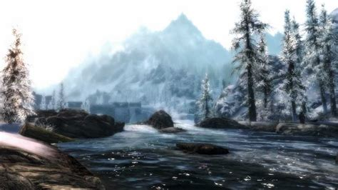 Skyrim- Landscapes and Scenery - YouTube