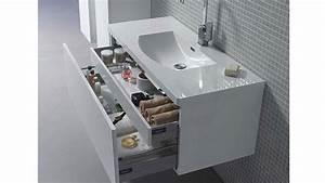 installez vous meme votre meuble de salle de bain suspendu With fixation d un meuble de salle de bain suspendu