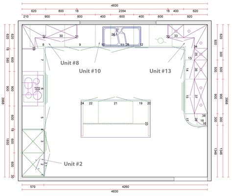 Kitchen Planner Dimensions different l shaped kitchen layout dimensions 3 design
