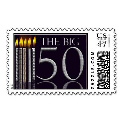 The Big 50 Birthday Stamp Zazzle com Birthday stamps