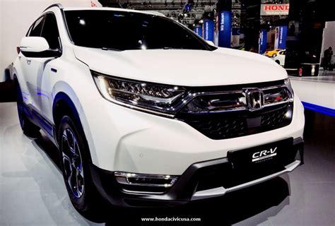 2019 Honda Crv Touring Price  Honda Civic Updates