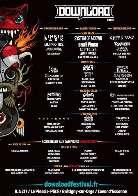 Jour 2 Download Festival Paris 2017  Soad, Slayer Et Five