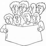 Coloring Printable Choral Colouring Printablecolouringpages Larger Credit sketch template