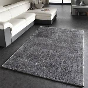 grand tapis gris a poils courts 130x190cm best of grands With grand tapis gris