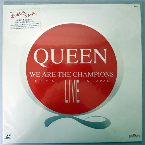 Queen  We Are The Champions At Discogs