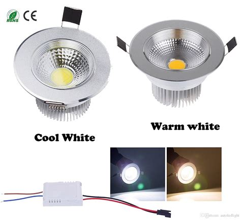 cheap diammable 7 watts cob led ceiling light downlight