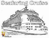 Cruise Ship Coloring Carnival Freedom Ships Yescoloring Cruises Stupendous sketch template