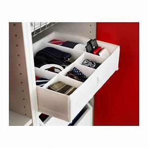 Boite A Bijoux Ikea : skubb bo te compartiments blanc pratique pinterest ikea collants et tiroir ~ Teatrodelosmanantiales.com Idées de Décoration