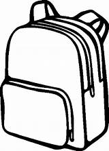 Backpack Coloring Drawing Pages Simple Printable Rucksack Clipart Easy Clipartmag Outline Getcoloringpages Paper Results Tags Hand Button Through sketch template