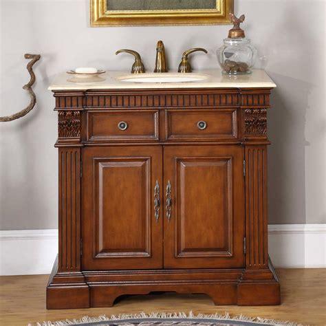 ivory ceramic kitchen sink 36 quot single sink cabinet crema marfil top undermount 4882
