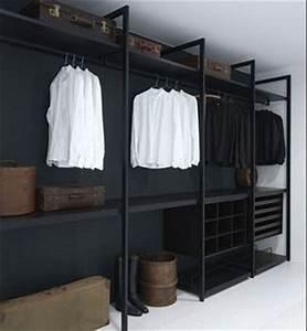 Dressing Ouvert Pas Cher : faire un dressing pas cher soi m me facilement ~ Melissatoandfro.com Idées de Décoration