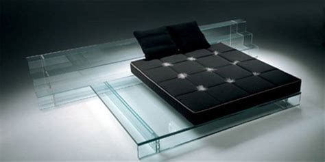 hide beds   glass