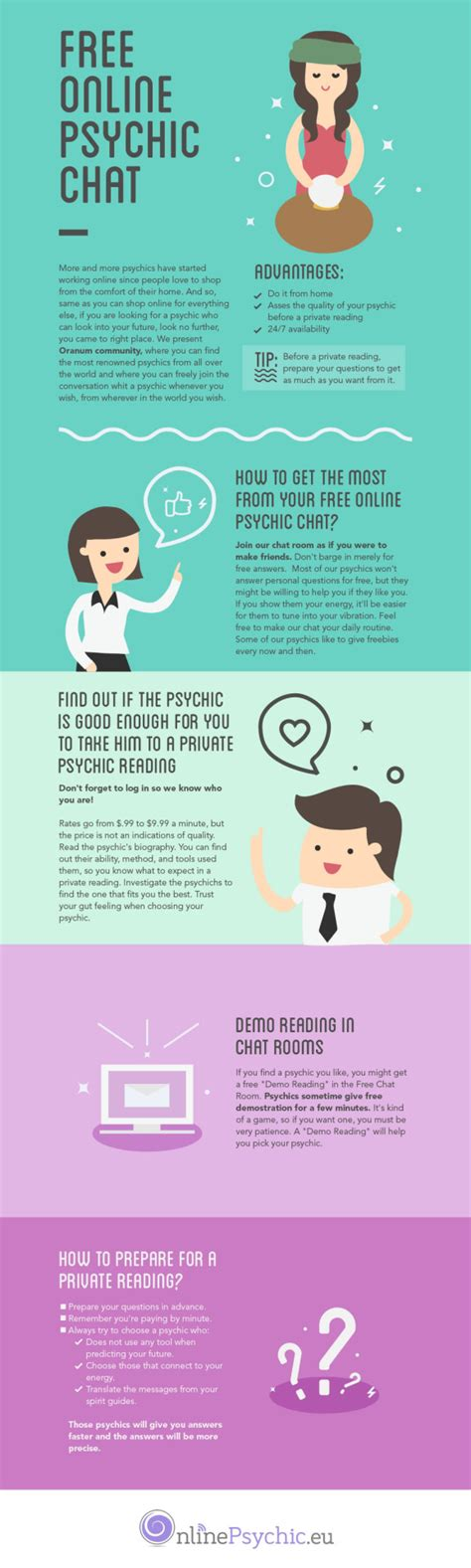 Free Online Psychic Chat [infographic]