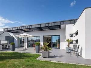 Maison Architecte Plain Pied : maisons cubiques et contemporaines architecte vannes morbihan ~ Melissatoandfro.com Idées de Décoration