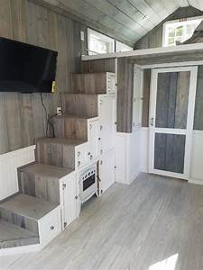 Tiny House Pläne : beautiful tiny home on wheels with large kitchen bathroom and storage haus mini maison ~ Eleganceandgraceweddings.com Haus und Dekorationen