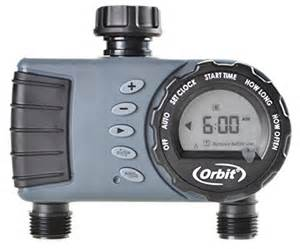 awardpedia orbit digital watering hose timer 2 valve