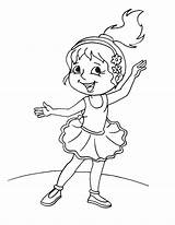 Coloring Pages Dance Print Dancer Dancing Ballet Cute Irish Jazz Drawing Boy Colouring Printable Getcolorings Moms Getdrawings sketch template