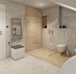 bad ideen fliesen ebenerdige dusche in 55 attraktiven modernen badezimmern