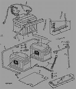 Battery  01e01  - Tractor John Deere 2120 - Tractor