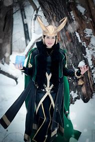 Female Loki Cosplay Avengers