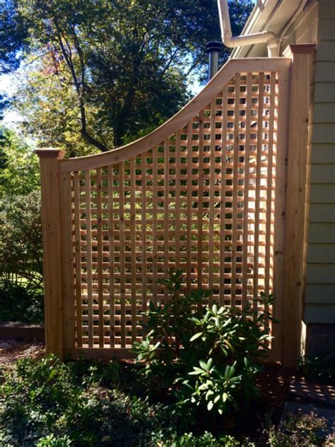 Outdoor Trellis Panels by Cedar Greenwich Square Lattice Fence Panel Atlas Outdoor