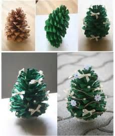 diy pine cone tree fabdiy