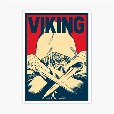 vinland saga thorfinn stickers redbubble