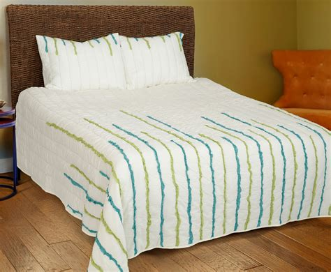 Rizzy Home Bedding by Streamers Lime Teal By Rizzy Home Bedding