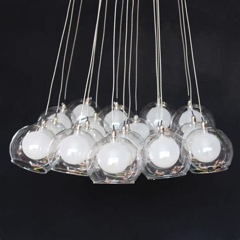 Chandelier. astounding clear glass chandelier: captivating