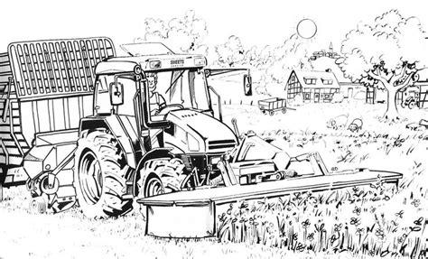 Kleurplaat Machines Landbouw by Pin Connie Drury Auf Color Farm Kleurplaten