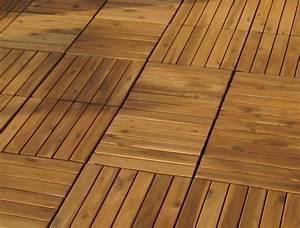 Terrassenfliesen Holz Klicksystem Verlegen : 1m holzfliese holzfliesen terrassenfliese ~ Michelbontemps.com Haus und Dekorationen