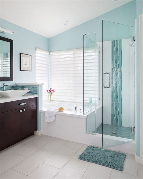 Spa Blue Bathroom by Soul Interiors Design House Of Turquoise Bathroom