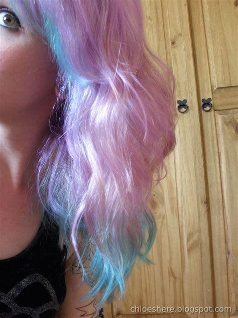 My Mermaid Hair Lilac And Pastel Turquoise Ombre Chloe