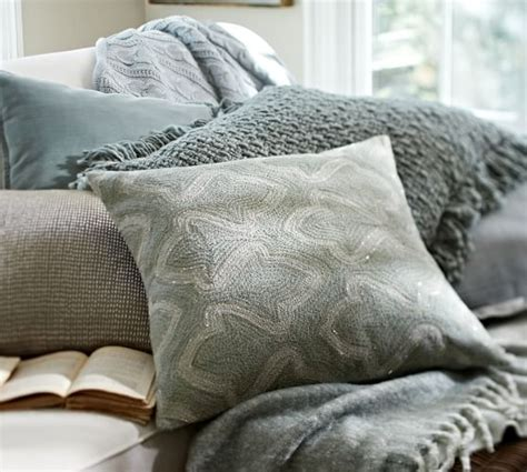 Embellished Beaded Pillow Covers Pottery Barn by Brielle Crewel Embroidered Pillow Cover Pottery Barn