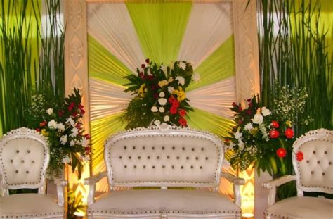 dekorasi pernikahan  rumah ide kreatif pernikahan