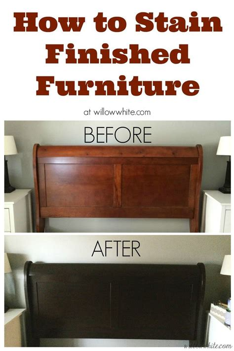 25 unique staining wood furniture ideas on
