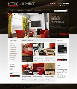 Interior furniture prestashop theme 33937 for Presta shop templates