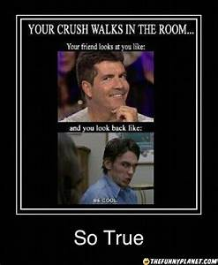 That Awkward Moment When Your Crush Walks By In The Room ...